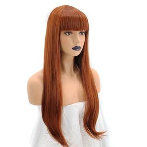 "💫KATE 24"" COPPER LONG HAIR WIG💫NEW"
